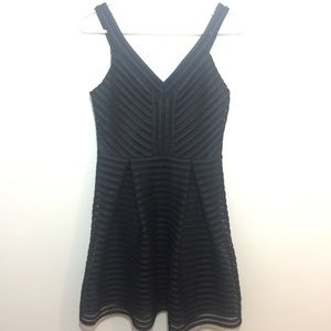Express Black Skater Dress Size 4